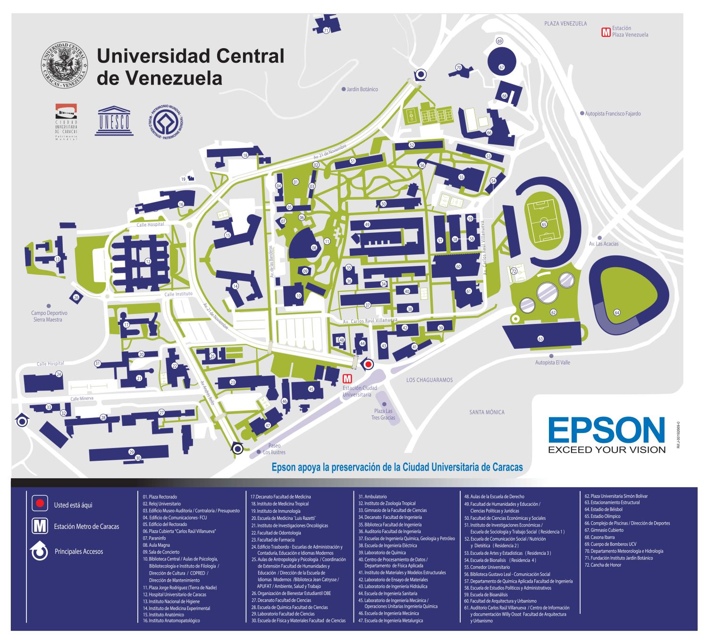 Trienal fau ucv 2014 modalidades for Mapa facultad de arquitectura